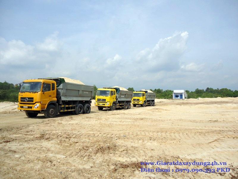 Báo giá cát xây dựng tại TPHCM mới nhất
