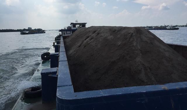 giá cát xây dựng tăng gấp đôi, trong tháng 4 / 2017