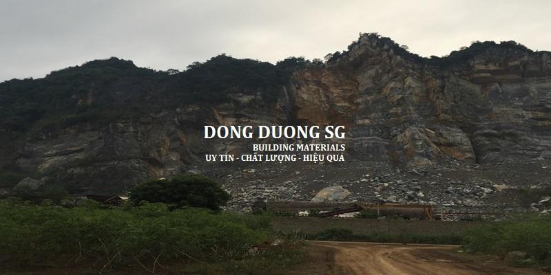 Nghiên cứu địa hình địa chất để tiến hành khai thác đá xây dựng