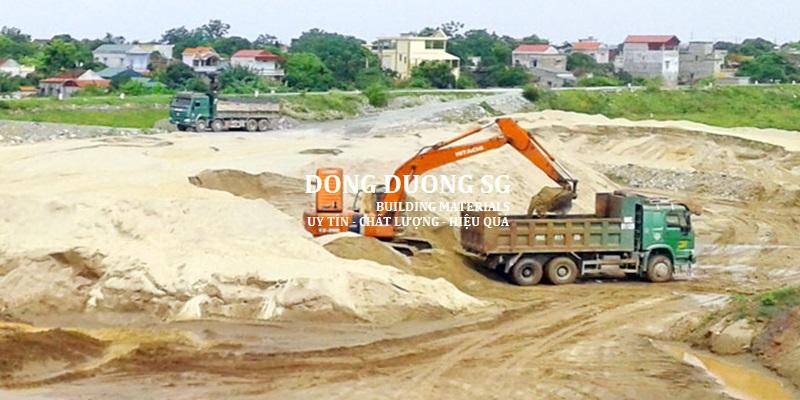 Báo giá cát bê tông tại TpHCM
