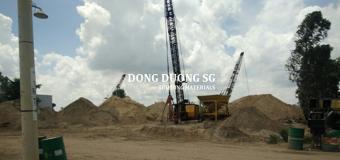 Giá cát xây dựng tháng 9/2017 : cát xây tô, cát lấp lấp, cát bê tông