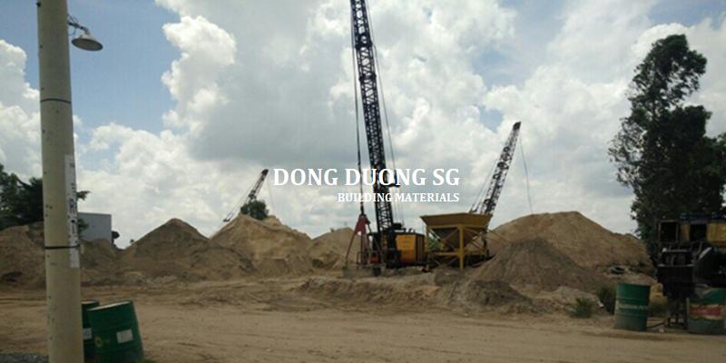 báo giá cát xây dựng hàng ngày : cát xây tô, cát bê tông, cát san lấp